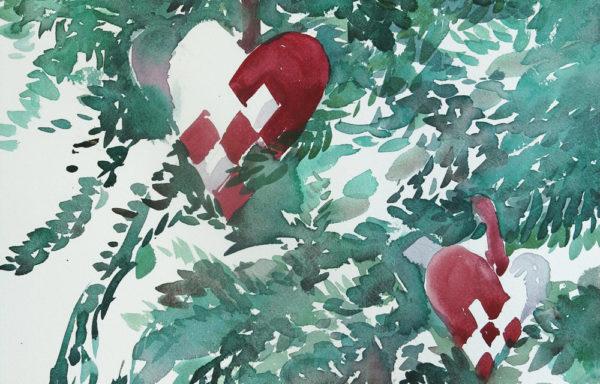 Dansk Jul  |  Original Painting by Kamilla Talbot
