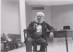Rolf as Ibsen at Portland State University