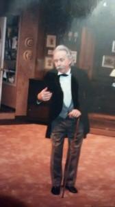Rolf, as Edvard Grieg. York Theatre.