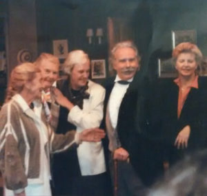 Photo: Samantha Leak; L-r: Elfi Alvin, Else Hvistendahl, Mari-Louise Hedlund, Rolf, & Vibeke Steineger, who produced of this Grieg Sesquicentennial event