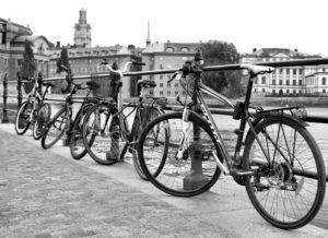 Bicycles, Stockholm, Sweden, 2013